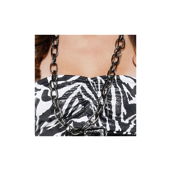 COLLAR MIX CHAIN SILVER BLACK