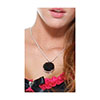 COLLAR GEM BLACK