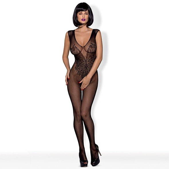 BODYSTOCKING BLACK ANGEL